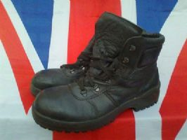 GERMAN ARMY MILITARY BALTES FUTURE VISION BLACK BOOTS STEEL TOE CAPPED